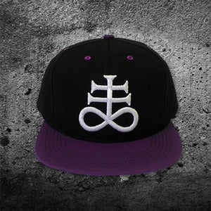 Image of Sulfur Leviathan Cross Snapback