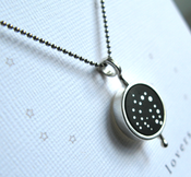 Image of Our Love Was Written In The Stars Pendant ~ Perseus and Andromeda