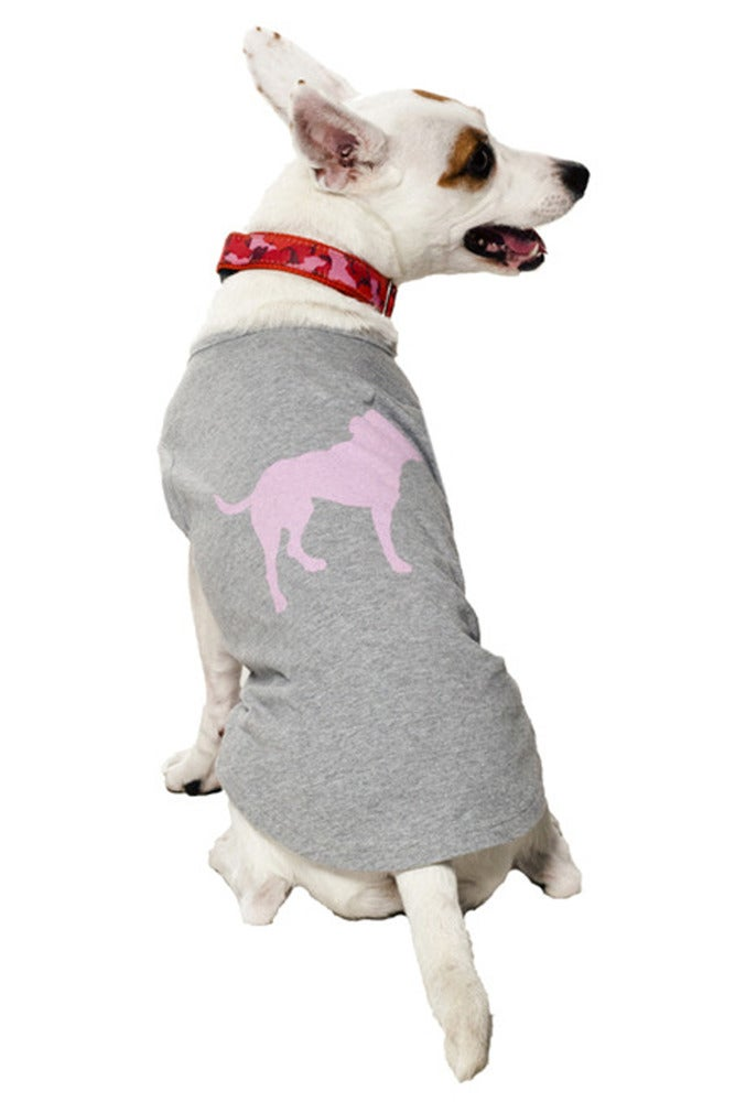 Image of PINK TINY TIM SIGNATURE DOG TEE