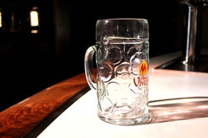 Image of Masskrug Dimpled 1-liter Stein