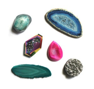 Image of Gemstone Magnet Set