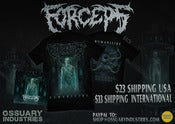 "Image of FORCEPS ""HUMANICIDE"" EP + T-shirt Package Deal"