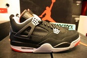Image of Air Jordan IV (4) retro &quot;Breds&quot;