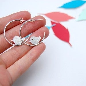 Image of bird hoops
