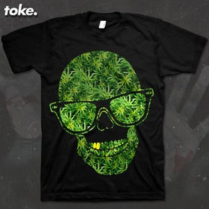 Image of Toke - Head Weed - Tee