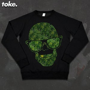 Image of Toke - Head Weed - Sweatshirt