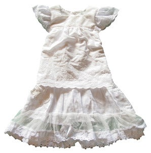Image of White Angel dress ..size 2 to 3 years