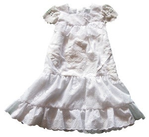 Image of Angel dress size 2 to 3 years vintage