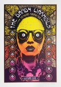 Image of The Dandy Warhols - European Tour 2012 - Silkscreen Poster