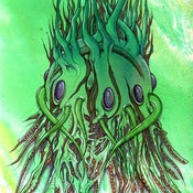 "Image of GREEN BOTTOM FEEDER - 8""x10"" PRINT"
