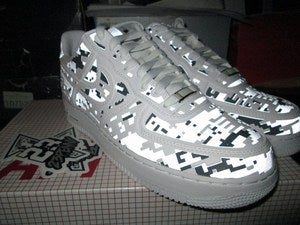 Image of Air Force 1 Low PRM QS &quot;High Freq. Camo&quot; 