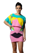 Image of Perky Pony tail Crop Top