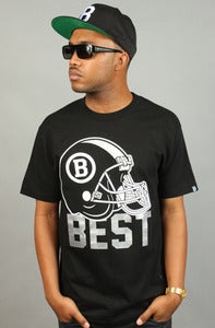 Image of BEST Helmet Tee Black