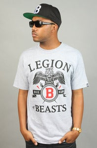 Image of Legion of Beasts Tee Grey