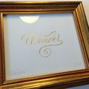 Image of Wonder - Gold leaf