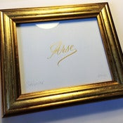 Image of Arse - Gold leaf