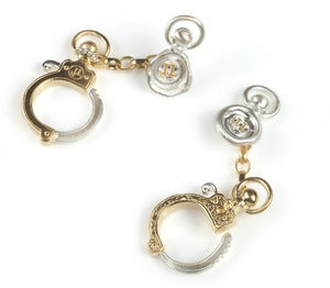 Image of Handcuff Cufflinks NEW