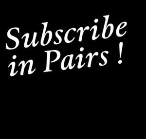 Image of Subscribe - (we do this in Pairs!)