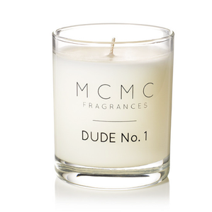 Image of MCMC Fragrances Dude No. 1 candle