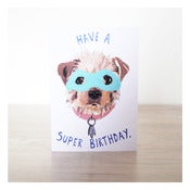 Image of SUPER BIRTHDAY CARD by Evie Kemp