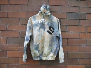 Image of City of Savages Tie Dye (Camo) Zip Up Hoodie