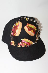 Image of Burger Studded Snap Back