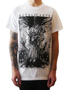 Image of METAL CARTER &quot; Death Master&quot; t shirt