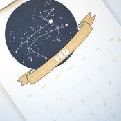 Image of 2013 Constellation Wall Calendar