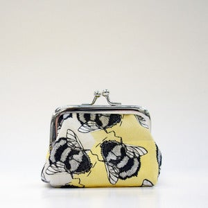 Image of Yellow Bee - Small Coin Purse