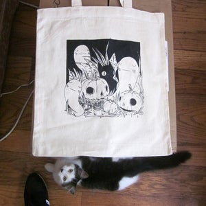 Image of Pumpkin Patch Tote Bag