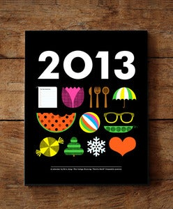 Image of 2013 Icon Calendar (SOLD OUT)