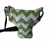 Image of Green Chevron {*WaterProof} Rain Slicky