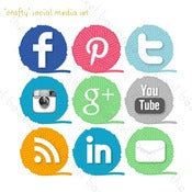 Image of crafty social media set