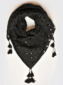 Image of Diamond Cutwork Scarf by Lindsay Puttock