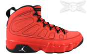 Image of Air Jordan 9 Motorboat