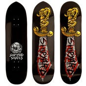"Image of Shipyard Skates ""Skulls and Sword"" Deck"