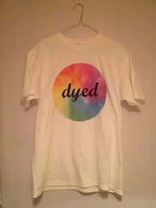 Image of Tie-Dye Logo T-shirt - White