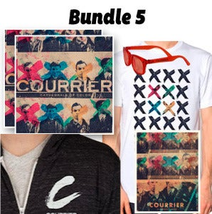 Image of Bundle 5: Cathedrals of Color Physical CD + Excluse CofC T-Shirt + Poster + Hoodie