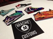 Image of Mache Sticker Pack (6)