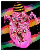 Image of &quot;COTTON CANDY COCOON OF SOULS&quot; Limited Edition Poster
