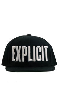 Image of EXPLICIT SNAP BACK