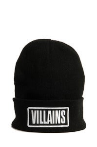 Image of VILLAINS BEANIE BLACK