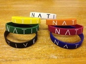 Image of 'Logo' Wristband (4 Pack)