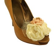 Image of Bouquet Shoe Clips for the Wedding Shoes