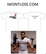 Image of iWontLose Tshirt - Grey