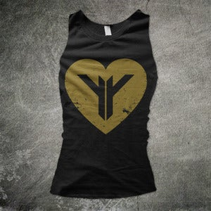 Image of Golden Heart Vest ***Unisex***