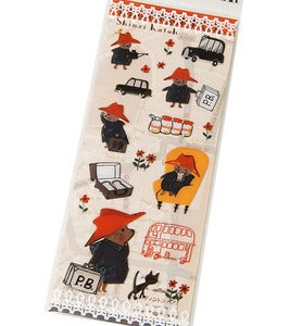 Image of Paddington Bear Jelly Stickers