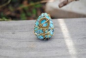 Image of Turquoise Magnesite Woman Power Ring