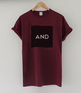 Image of Burgundy Black AND