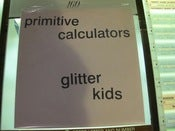 Image of Primitive Calculators ~ Live 7""